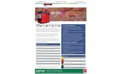 Addfield MP 200 Medical Waste Incinerator(200Kg) - Full Specification Sheet
