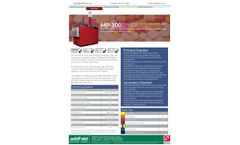 Addfield MP-300 Clinical Waste Incinerator(300Kg) - Full Specification Sheet