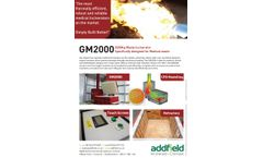 Addfield - Model GM2000/HB - Medical Waste Incinerator (2000Kg) - Full Specification Sheet