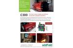 Addfield - Model C300 - High Capacity Hospital Waste Incinerator (300Kg) - Datasheet
