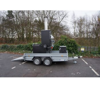 Addfield - Small Trailer Mounted Mobile Incinerator