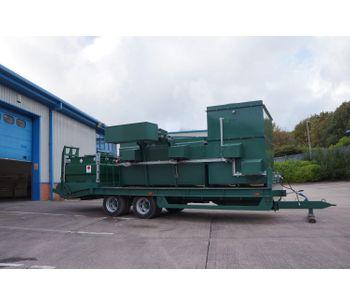 Large Trailer Mounted Mobile Incinerators-1