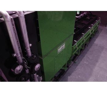 Largest Top Loading Batch Incineration Machine(500Kg)-2