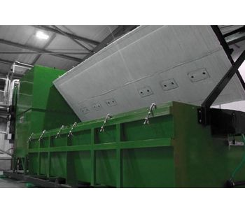Addfield - Model TB-AB-MAX - Largest Top Loading Batch Incineration Machine(500Kg)