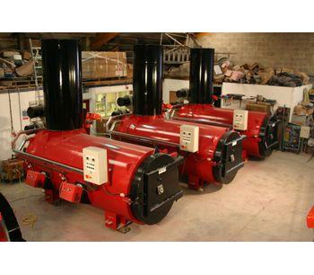 High Capacity Incinerator 200kg/hr Animal Disposal Machine (200Kg)-4