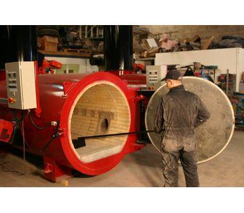 High Capacity Incinerator 200kg/hr Animal Disposal Machine (200Kg)-3