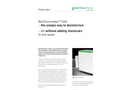 BacTerminator - Safe Water Systems Brochure