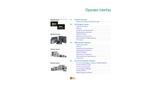 Galileo - XV Series - Operator Interface Panels