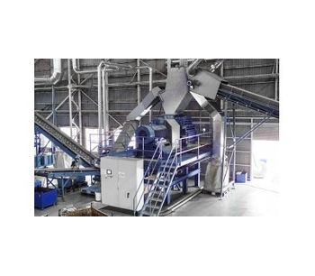 Recycling equipments for electronic waste recycling (WEEE) - Waste and Recycling - Material Recycling