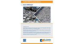 Eldan - MSW Recycling System Up to 40000 kg/h - Brochure