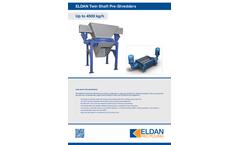 ELDAN TS970-II / TS1460-II Twin Shaft Pre-Shredder - Brochure