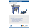 ELDAN TS970-II / TS1460-II Twin Shaft Pre-Shredder - Brochure