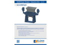 ELDAN SC2109 / SC2118 Super Chopper - Frequency Drive Up to 30000 kg/h - Brochure