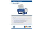 ELDAN FG476 / FG952 / FG1504 - Fine Granulators - Up to 4500 kg/h - Brochure