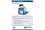 ELDAN HG129 / HG169 / HG209 Heavy Granulators Up to 8000 kg/h - Brochure