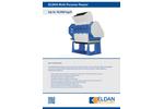 ELDAN MPR80 / MPR120 / MPR160 / MPR200 ELDAN Multi Purpose Rasper Up to 10.000 kg/h - Brochure