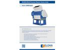 Eldan MPR160 HD / MPR200 HD Multi Purpose Rasper (Heavy Duty) Up to 14000 kg/h - Brochure