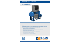 ELDAN R800 / R1200 Raspers Up to 2000 kg/h - Brochure