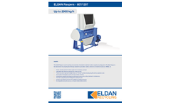 ELDAN R807 / R1207 Rasper Up to 2000 kg/h - Brochure