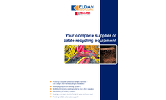 Your Complete Supplier of Cable Recycling Equipment – Brochure