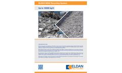ELDAN MSW Recycling System - Up to 40000 kg/h - Brochure