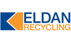 Eldan launches the Eldan twin Shaft Clean-Cut Tyre Shredder