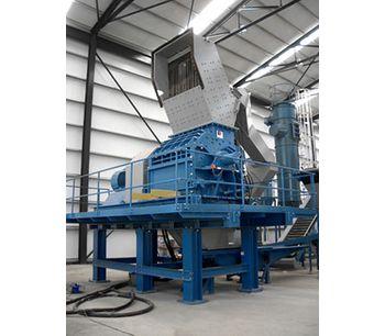 Shredder Light Fraction (SLF) / Automobile Shredder Residue (ASR) Recycling Services