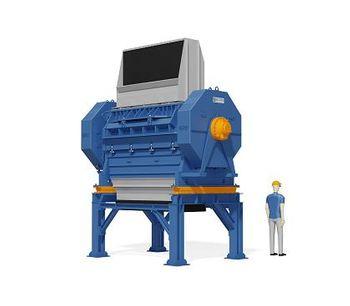 ELDAN - Model MPR163HD / MPR203HD - Multi Purpose Raspers - Hydraulic Up to 16000 kg/h