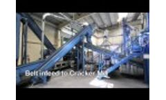 Recycling of Tyres - Powder Production Video