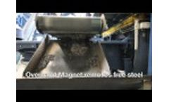 Recycling of Mining Tyre - Video