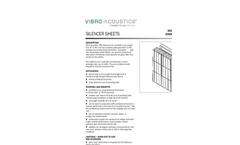 Vibro-Acoustics - Model AC-D - Dissipative Axial Fan Cone Silencers Brochure