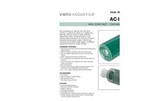 Vibro-Acoustics - Model AC - Axial Fan Cone Silencers Brochure