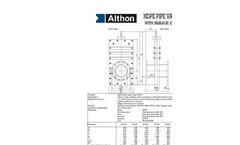 Althon - Model 200mm - Inline Penstock Brochure