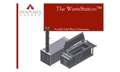 WasteStation - Portable Advanced Thermal Oxidation System - Brochure