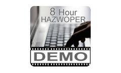 DEMO - 8 Hour OSHA HAZWOPER-Online Training