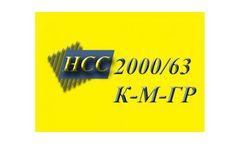 HCC - Model 2000/63-K-M-GR - Hydraulic Dredger