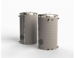 Enduratank  25000 litre waste water tanks