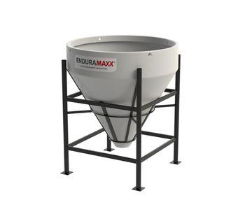 Enduramaxx - Model 900 Litre - Open Top Cone Tank