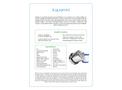 Multipure - Model Aquamini - Travel Water Filter System - Datasheet