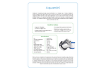 Multipure - Model Aquamini - Travel Water Filter System - Datasheet