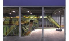 Recycling solution for de-inking waste sector