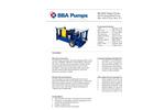 BBA Pumps BA150E D285 - Diesel Driven Self Priming Ballast Pump - Technical Specifications