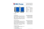 BBA Pumps PT150 D180 7,5kW Wellpoint Dewatering Pumps - Technical Specifications