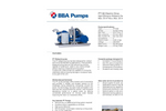 BBA Pumps PT130E - 400V Electric Drive Wellpoint Dewatering Pump - Technical Specifications