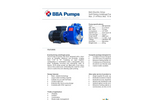 BBA Pumps B40 BVGMC Electric Drive Self-priming Centrifugal Pump - Technical Specifications