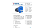BBA Pumps B45 BVGMC - Self-Priming Centrifugal Pump - Technical Specifications