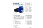 BBA Pumps B50 BVGMC Self-Priming Centrifugal Pump - Technical Specifications