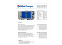 BBA Pumps BA150E D285 Diesel Driven Dewatering Pump and Sewage Pump - Technical Specifications - Technical Specifications