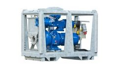 BBA Pumps - Model BA100E D265 - Electrically Driven Sewage and Dewatering Pump in Frame