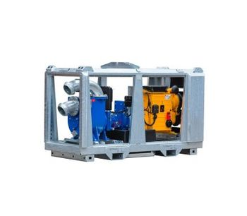 BBA Pumps - Model BE160 D254 - Air Cooled Diesel Engine